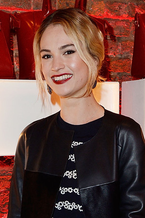 Launch Party To Celebrate Virgin Atlantic's New Vivienne Westwood Uniform Collection Lily James