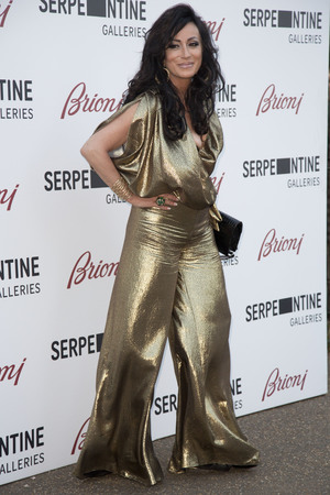 LONDON, UNITED KINGDOM - JULY 01: Nancy Dell'Olio attends the annual Serpentine Galley Summer Party at The Serpentine Gallery on July 1, 2014 in London, England. (Photo by Julian Parker/UK Press via Getty Images)