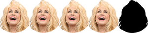 Four Dolly Partons