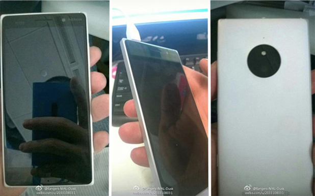 Alleged leaked image of the 'Nokia 830'