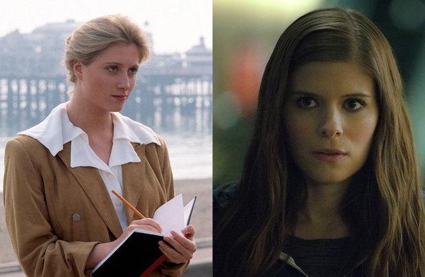 House of Cards: Susannah Harker and Kate Mara