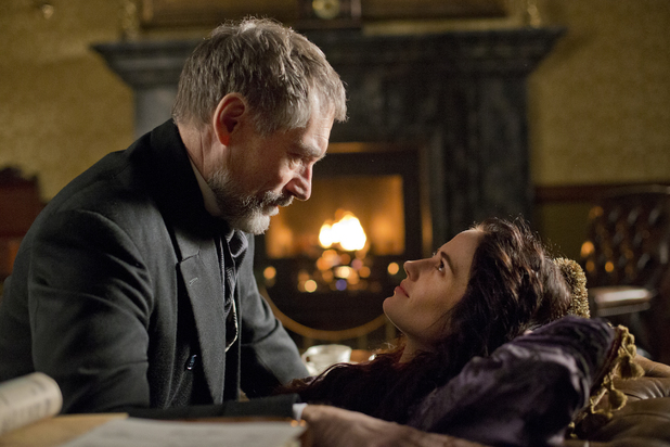 Timothy Dalton as Sir Malcolm and Eva Green as Vanessa Ives in Penny Dreadful: Season 1, Episode 7
