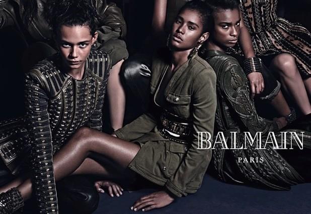 Balmain A/W 2014 campaign