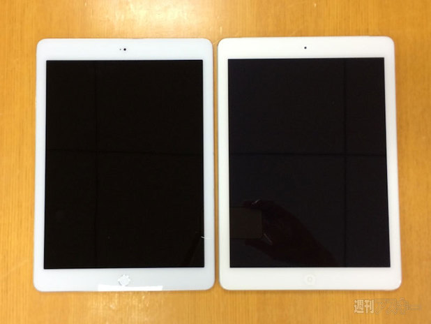 Purported leaked photograph of the iPad Air 2