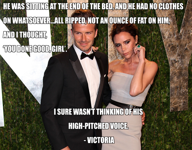 Posh and Becks quotes (David Beckman and Victoria Beckham)