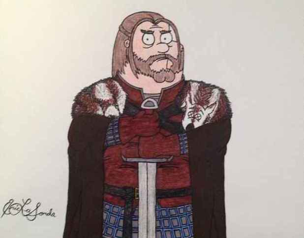 Game of Thrones meets Family Guy