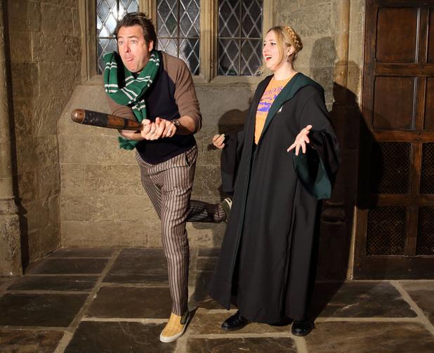 Jonathan Ross at a Harry Potter Summer Screenings event
