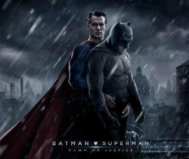 Batman v Superman posters merged to give story a whole new slant.