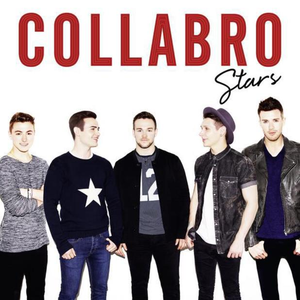 The artwork for Collabro's debut album Stars