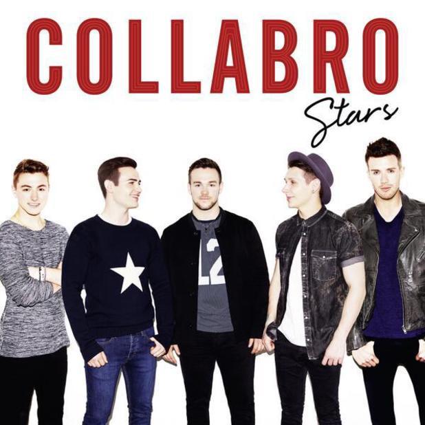 The artwork for Collabro's debut album Stars