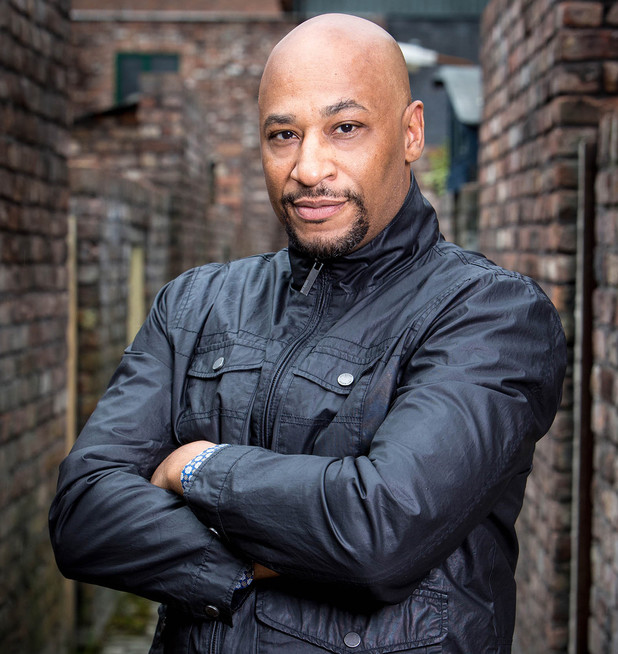 Coronation street s terence maynard tony will be a slippery rogue
