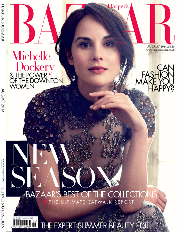 The women of Downton Abbey star in an exclusive fashion shoot for Harper's Bazaar UK