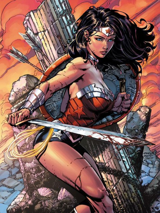 David Finch's Wonder Woman