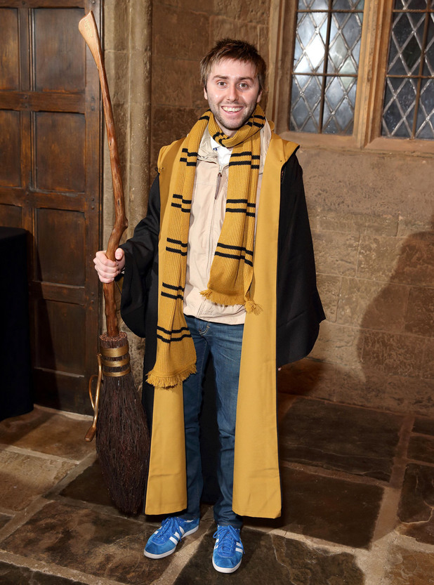 James Buckley at a Harry Potter Summer Screenings event