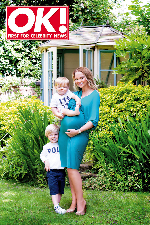 Jennifer Ellison in OK! magazine