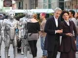The Cybermen return in Doctor Who series 8.