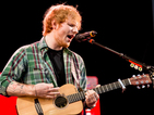 Ed Sheeran holds on to UK number one album for a third week