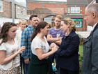 Coronation Street: Bailiffs arrive at the Windass house - video