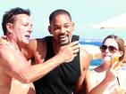 Is Will Smith's selfie with topless female fan the most awkward ever?