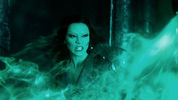 See Star Trek's Zoe Saldana as green-skinned alien Gamora in Guardians of the Galaxy.