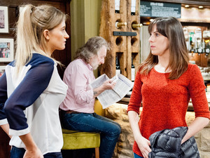 Debbie warns Donna about sending Ross to threaten her and Donna wonders what Ross has done.