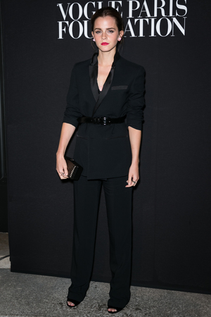 PARIS, FRANCE - JULY 09: Emma Watson attends the Vogue Foundation Gala as p
