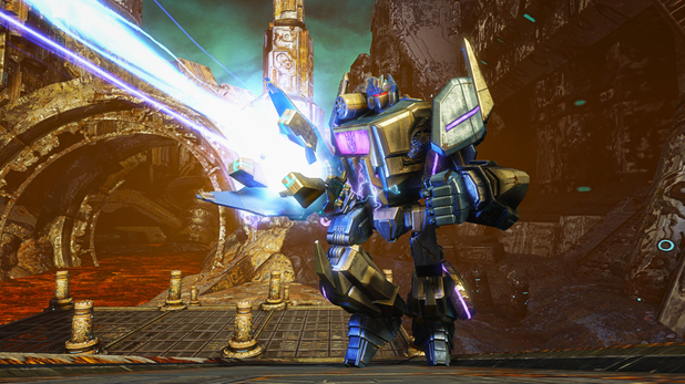 Transformers: Rise of the Dark Spark is out now on PC and consol