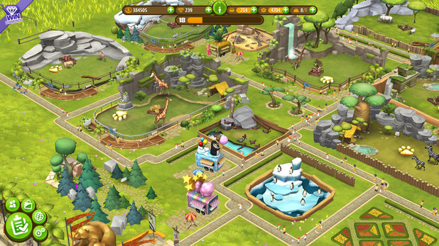 Zoo Tycoon Friends is a free-to-play game for Windows Phone and PC