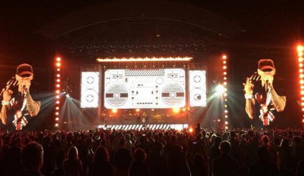 Eminem Wembley
