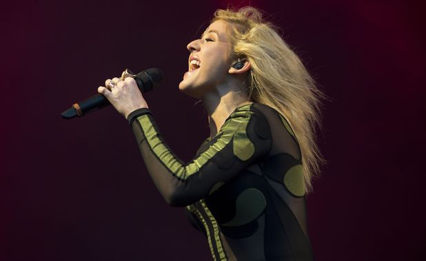 Ellie Goulding's Eden Sessions performance at the Eden Project, Cornwall