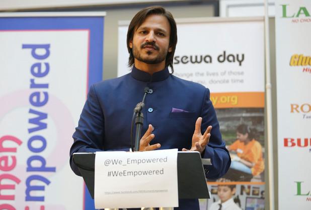Vivek Oberoi promotes Sewa Day in London