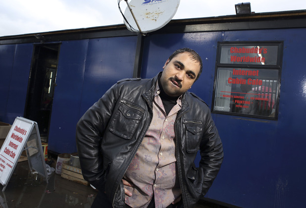 Chabuddy (Asim Chaudry) in People Just Do Nothing
