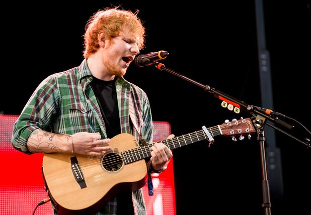 T in the Park, Ed Sheeran