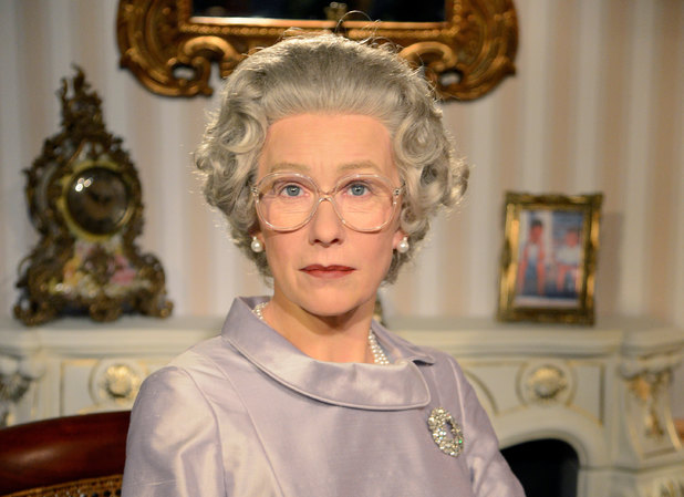 Waxwork of Helen Mirren as Queen Elizabeth II at Madame Tussauds in Berlin, Germany - 04 Feb 2013Waxwork of Helen Mirren as Queen Elizabeth II 4 Feb 2013