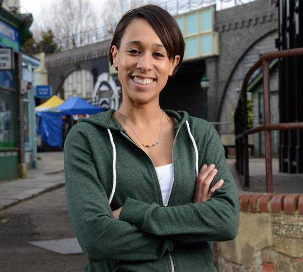 Rebecca Scroggs as Tosh in EastEnders