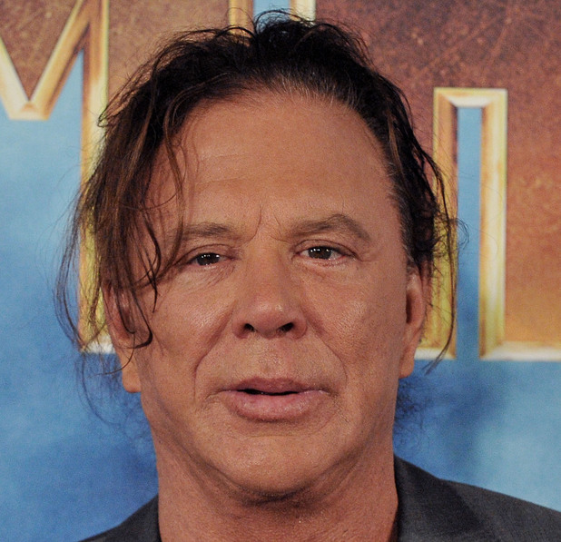 BEVERLY HILLS, CA - APRIL 23: Actor Mickey Rourke poses at Los Angeles Photo Call for 'Iron Man 2' at the Four Seasons Beverly Hills on April 23, 2010 in Beverly Hills, California. (Photo by Jon Kopaloff/FilmMagic)