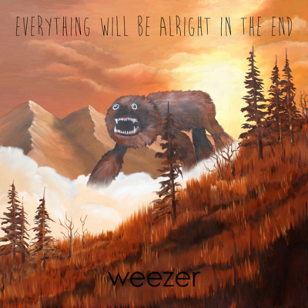 Weezer's Everything Will Be Alright in the End art