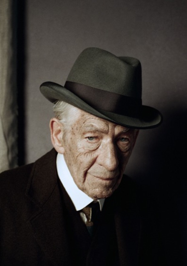 Ian McKellen as Sherlock Holmes in A Slight Trick of the Mind