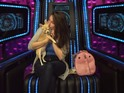 Danielle is thrilled when her dog Coco arrives in the Diary Room for a visit.