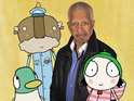 Play School legend will appear alongside Roger Allam in Sarah & Duck.