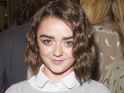 Maisie Williams at the opening night of The Curious Incident of the Dog in the Night-Time