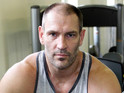 Dave Legeno at the Moor Fitness Gym