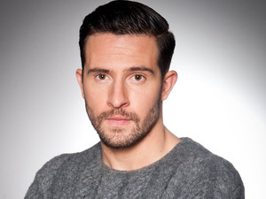 Michael Parr as Ross Barton in Emmerdale