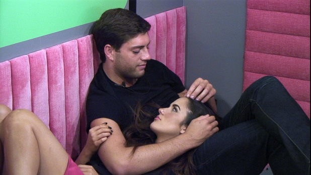 Steven Goode and Kimberly Kisselovich on Big Brother