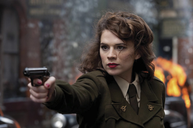 Peggy Carter in Captain America: The First Avenger
