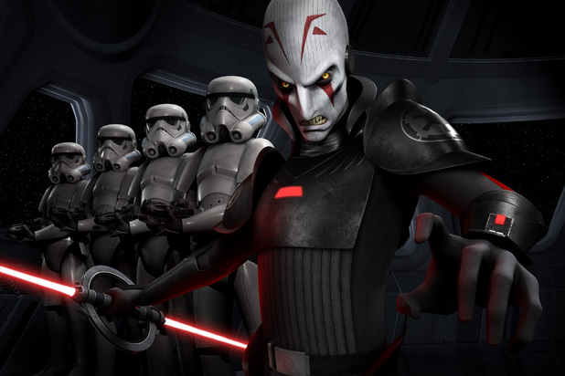 Jason Isaacs as Imperial Inquisitor in Star Wars Rebels