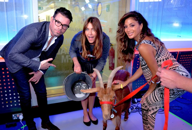 Nicole Scherzinger joins Dave Berry and Lisa Snowdon on the Capital Breakfast show
