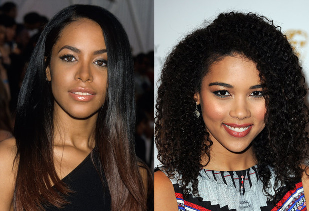 Alexandra Shipp and Aaliyah