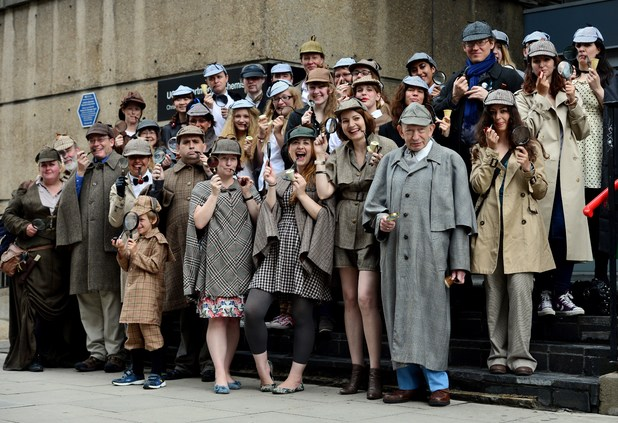 The Greatest Number of People Dressed As Sherlock Holmes