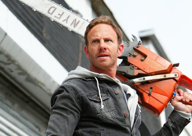 Ian Ziering in Sharknado 2